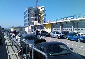 Rennstreckentraining am Sachsenring